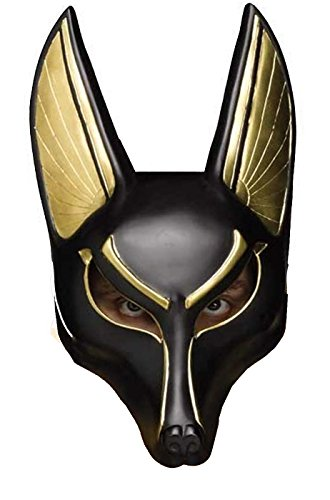 Anubis the Egyptian God Mask (Egyptian Boys Costume)