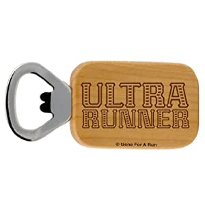 Gone For a Run Ultra Runner Maple Bottle Opener