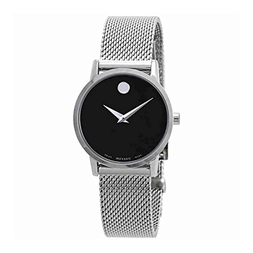 Movado Museum Classic Black Dial Ladies Watch (Museum Dial Womens Watch)