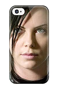 New IVbBWYl11356NZZSO Charlize Theron Books Skin Case Cover Shatterproof Case For Iphone 4/4s