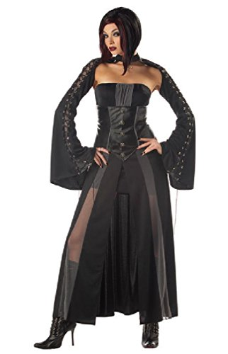 [8eighteen Baroness Von Bloodshed Women Gothic Vampire Costume] (Baroness Von Bloodshed Costumes)