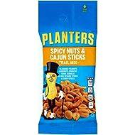Planters Spicy Nuts & Cajun Sticks Trail Mix, 2 oz. Single Serve Bags (Pack of 72)