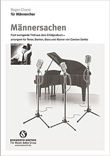Roger Cicero für Männerchor: Männersachen