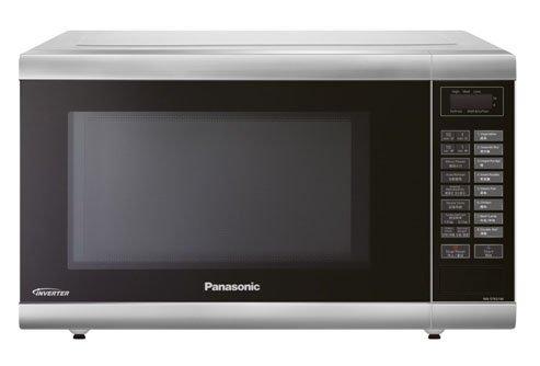 Panasonic NN-ST651M 32-Liter Inverter Technology Microwave Oven 220-Volts (Non-USA Compliant), European Cord