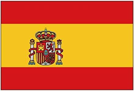 RONGBUY grande España Español Bandera de gigante 5 x 3 pies (Pack de 2): Amazon.es: Hogar