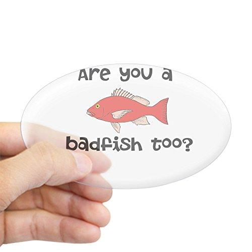 CafePress - Sublime Bad Fish Reggae Sticker (Oval) - Oval Bumper Sticker, Euro Oval Car Decal (Sublime Fish)
