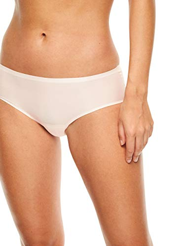 Chantelle Women's Soft Stretch One Size Regular Rise Hipster, Blushing Pink,