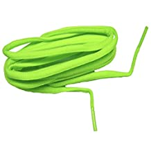 Hot Neon Green proATHLETIC (TM) Oval sneaker Laces Shoelaces 2 pair pack