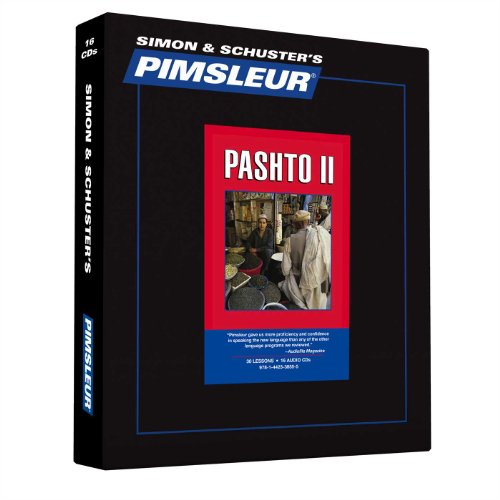 Pimsleur Pashto Level 2 CD: Learn to Speak and Understand Pashto with Pimsleur Language Programs ()