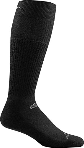Darn Tough Tactical Mid-Calf Boot Light Cushion Socks ( T3005 ) Unisex – (Black, X-Large)