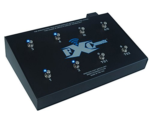 FXConnectx FXCXComboSystem Wireless Switching System for Effect Pedals, Amplifiers and Audio (System Box Stomp Wireless)