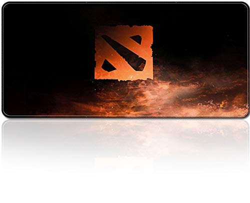 SMAIGE XXL Extended Gaming Mouse Mat/Pad - Large, Wide (Long) Mousepad, Stitched Edges | 31.5