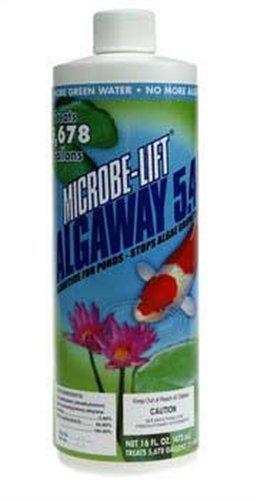 Microbe Lift 16-Ounce Pond Algaway 5.4 ALGA16 Algaway 5.4 Control