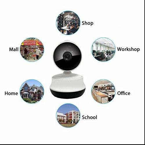 Innen WiFi ip kamera Zoom und Fokus,bidirektionaler Sound,drahtlos Alarmanlagen,Remote Viewing Funktion,Zwei Wege Video,eingebaute Infrarotbeleuchtung