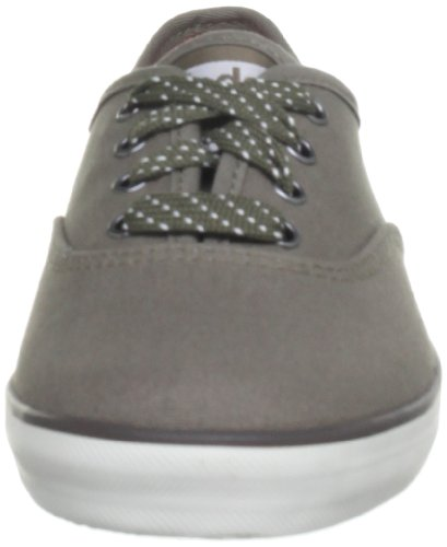 Keds Champion Seasonal - Zapatos de cordones de lona para mujer gris - Walnut Grey