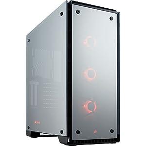 Corsair Crystal Series 570X RGB Mirror Black Tempered Glass Premium ATX Mid Tower Case (CC-9011126-WW)