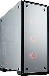 Corsair Crystal 570x Rgb Mid-tower Case, 3 Rgb Fans, Tempered Glass - Mirror Black