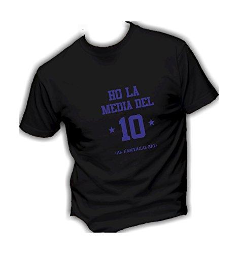 T In Social Italy Divertente Humor Vestibilità Media Super Top Crazy 10 Made Ho shirt Uomo Del La Nero Qualità Basic Cotone AUn5Ugxr