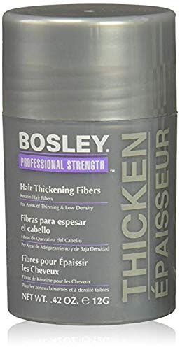 Bosley Hair Thickening Fibers 0.42 oz Blonde