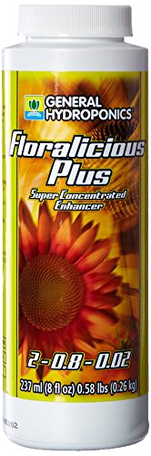 Bioactive Extract - General Hydroponics Floralicious Plus for Gardening, 8-Ounce