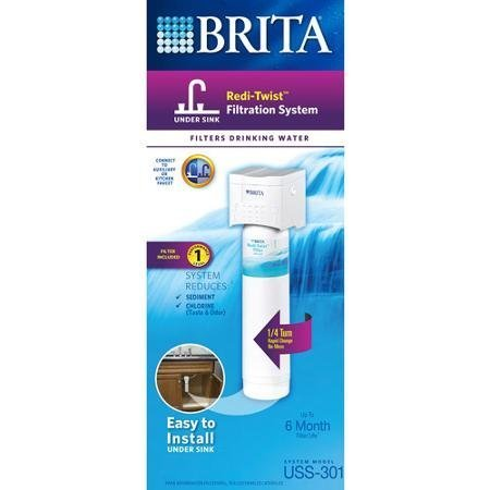 Brita Redi-Twist 1-Stage Under-Sink System by Brita by Brita