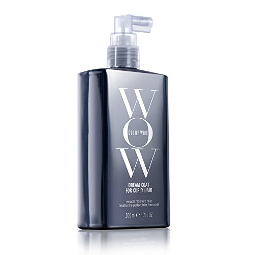 COLOR WOW Dream Coat for Curly Hair, Miracle moisture mist for perfect frizz-free curls, 6.7 fl. oz.