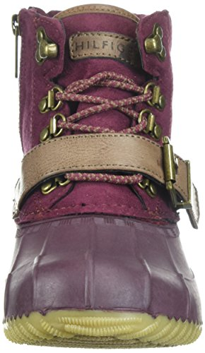 Boot Women's Regin Tommy Snow Hilfiger Burgundy qIwxZO