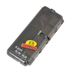 4 Port Slim USB 2.0 Hub