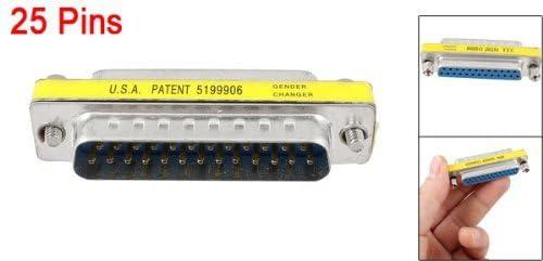 F connettore delladattatore DB stampante 25 pin maschio a 25-pin femmina M