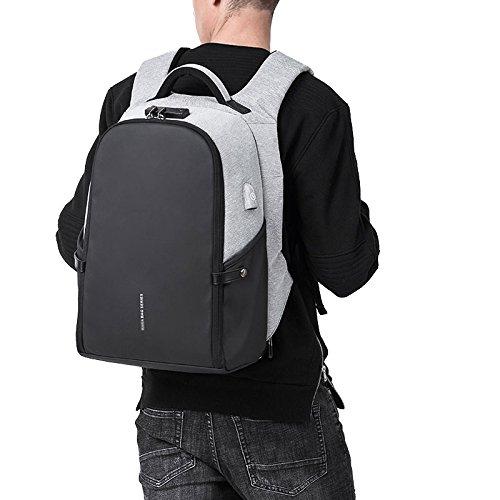 Anti Daypack Con Di Porta 6 Impermeabile Pollici Business MERRYHE Zaino 15 Uomo furto Da USB Esterna Ricarica Zaino Per Zaino Blue Adolescente Scuola Da Da Zaino xzaHwUqTa6