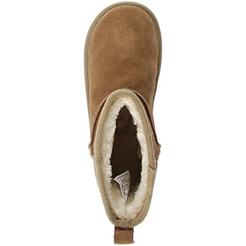 Ladies Women's Boot Suede Dude Tan Shoes Sella t4SPqHw