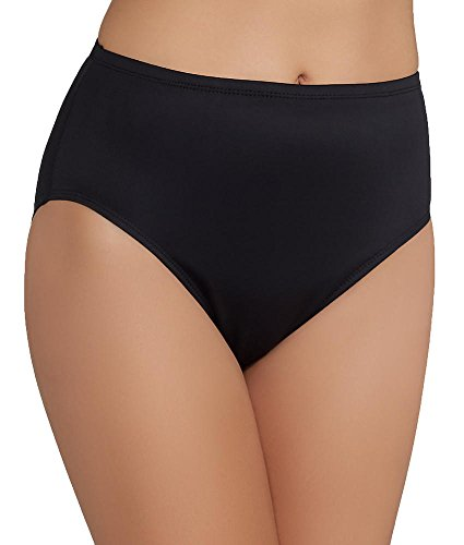 Miraclesuit Women's Miracle Solids High Waist Bottom Black 16 (Two Tankini Piece Miraclesuit)