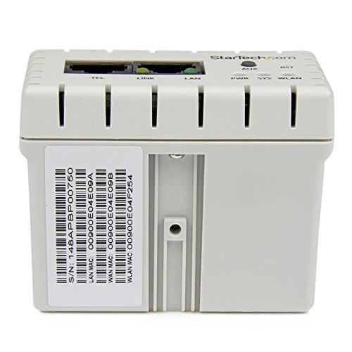 In-wall Wireless Access Point - Wireless-N - 2.4GHz 802.11b/g/n - PoE-Powered WiFi AP by StarTech (Image #3)