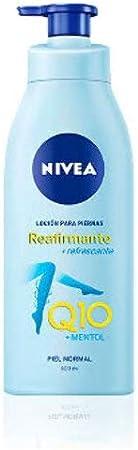 NIVEA Q10 Loción para Piernas Reafirmante + Refrescante en loción reafirmante para piel normal, loción hidratante corporal para una piel firme, 400 ml
