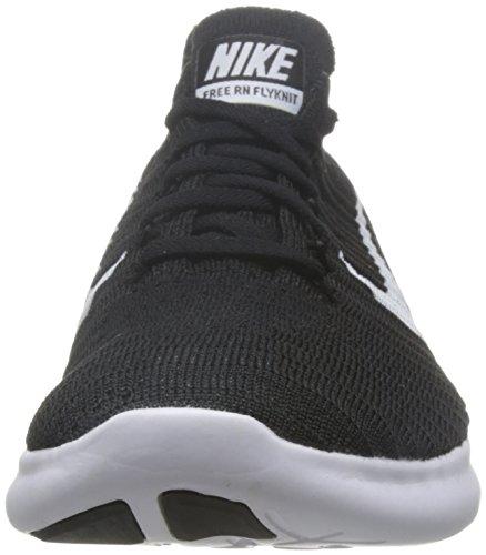 Nike Mens Free Rn Flyknit Scarpa Da Corsa (nero) (11.5)