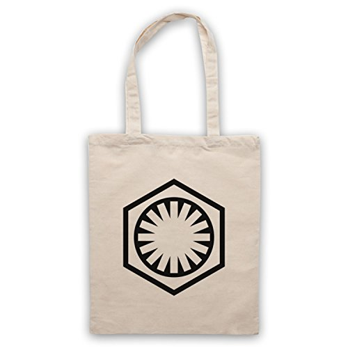 Star Wars First Order Logo Bolso Natural