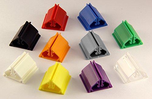 Spiel Pro Plastic Game Card Stands - 10 pc - Multi Colored 3/4