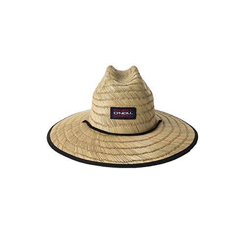O'Neill Men's Sonoma Print Straw Hat, Red White Blue/Stars ONE ()