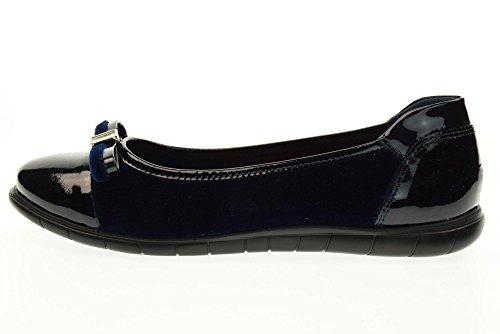 Mujer 20807 Callaghan De 2 Zapatos Bailarina Negro Azul nRnq1TFI