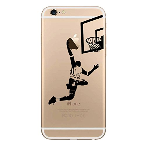 iPhone 6S Basketball Case,iPhone 6 Silicone Cases with Playe