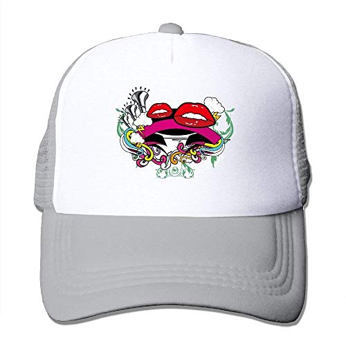 Mouth Musical Instruments Adjustable Sports Mesh Baseball Trucker Caps Sun Hats