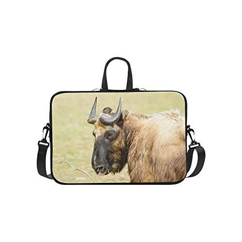 Laptop Bag Takin, an Endangered Species Shoulder Bag Crossbody Bag Adjustable for Men Women Business Personnel Boy Business Travelling Commercial Affairs Business Trip