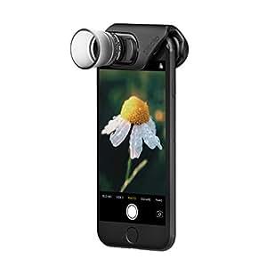 olloclip — MACRO PRO LENS SET for iPhone 8/8 Plus & iPhone 7/7 Plus — 7x, 14x & 21x Premium Glass Lenses