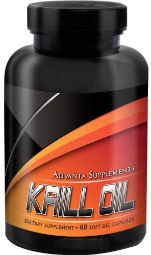 Advanta suppléments d'huile de Krill, 500 mg par gélule, 60 gélules