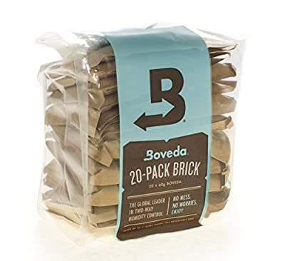 Boveda Bulk 20 Pack Brick 2-way Humidity Control