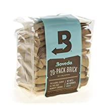 Boveda Bulk Brick Large (67 gram) 20-pack 2-way Humidity Control (62%)