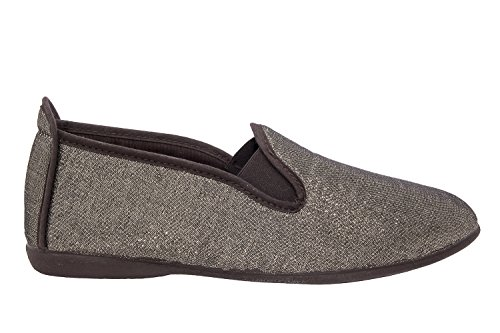 to Shiny Size Slip On Machado Shoes Bronze Range 8 Flat Fabric 42 EU Large AM5049 to Andres UK 5 10 Sizes 45 EIwHXxvqv