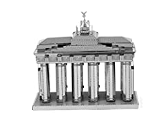 The Metal Earth models are amazingly detailed etched models that are fun and satisfying to assemble. Each model starts out as 4 inch square metal sheets and you simply pop out the pieces using wire cutters and follow the included directions t...