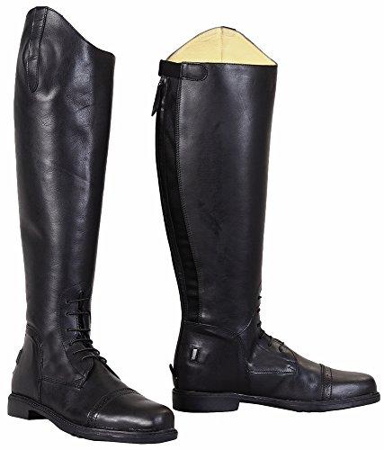 TuffRider Men's Baroque Field Boots, Black, 12 Wide 3048