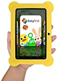 KOCASO [7 INCH] Quad Core [Android 4.4 KitKat] Kid's HD Tablet PC- 8GB Storage W/ 32GB Expandable Memory, 1024x600, Dual Camera, WiFi & Bluetooth, Micro USB/SD Card Slot, Google Play Apps- (Yellow)